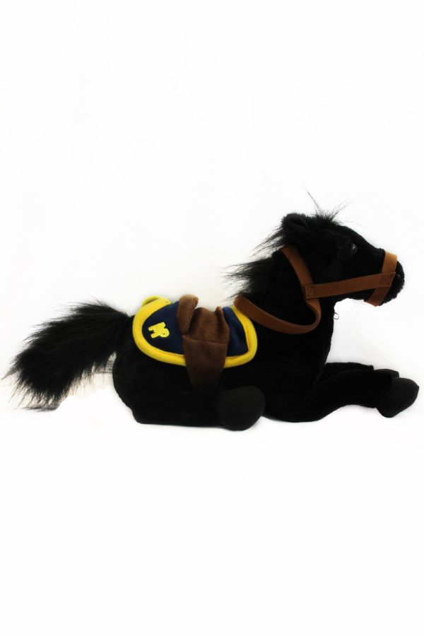 "Plush Musical Ride Horse ""Lance"" / Cheval en peluche Musical Ride ""Lance"""
