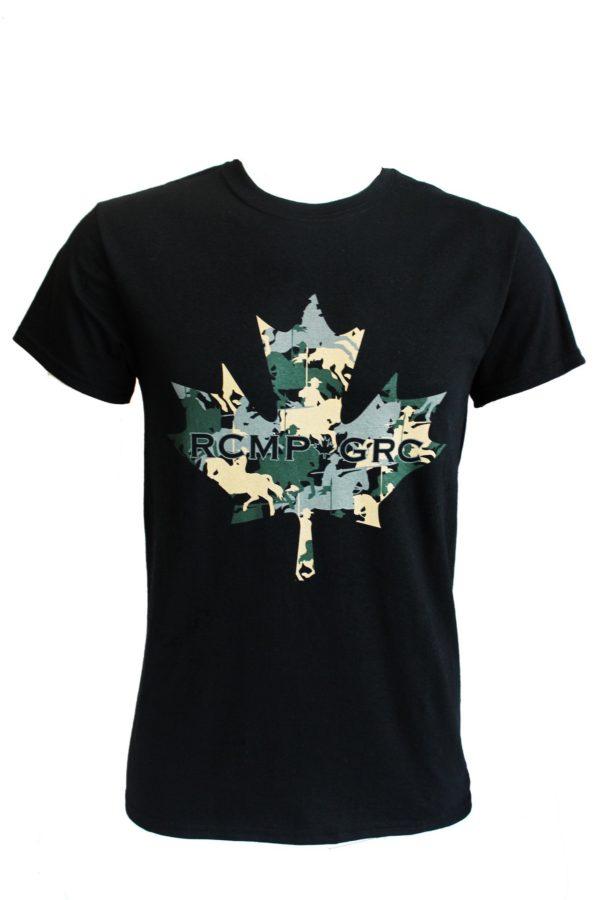 T-Shirt RCMP-GRC Maple Leaf & Rider / T-Shirt RCMP-GRC avec feuille d'érable et cavalier