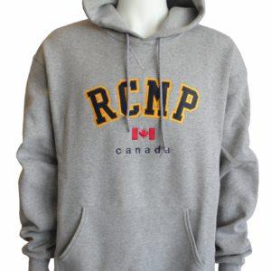 Hoodie with RCMP Crest /Chandail à capuchon avec l'éccussion de la GRC