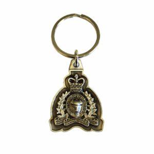 Keychain Pewter with RCMP Crest / Porte-clés en étain avec l'écusson de la GRC