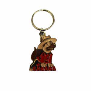 Keychain RCMP Dog / Porte-clés de la GRC avec chien