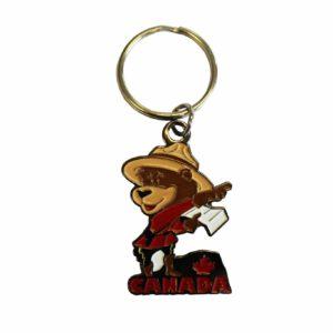 Keychain RCMP Bear / Porte-clés ours de le GRC