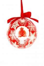 Christmas Ball with the RCMP Crest / Boule de NOËL