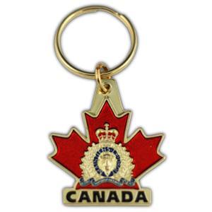Keychain Canada with RCMP Crest/ Porte-clés Canada avec l'éccussion de la GRC