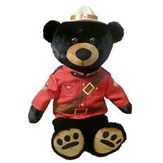 Plush Sergeant Blackberry Family / Sergent en peluche Blackberry famille