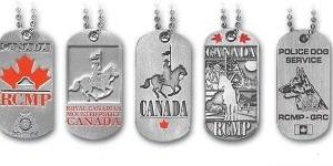 Dog Tags Pewter / Plaque d'identification en étain