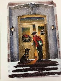 Chirstmas Cards RCMP / Cartes Noël GRC