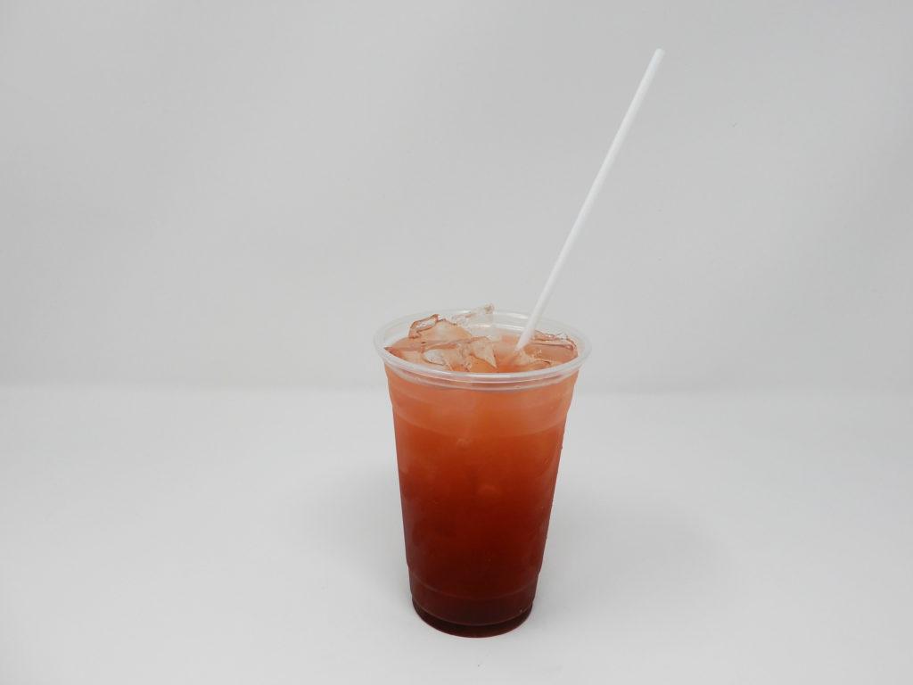 Raspberry Hibiscus Rooibus Iced Tea
